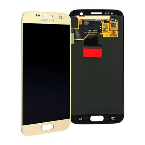 Lcd Samsung S7 Samsung Galaxy S7 Lcd Display Gold