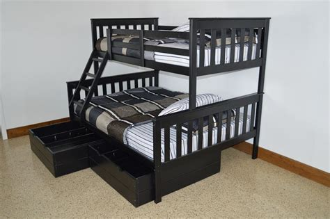 amish bunk beds twin over full futon bunk bed instructions