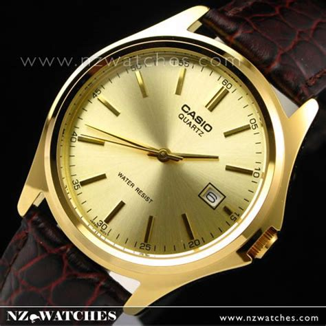 Casio Mtp 1183q 9a For buy casio s watches fashion leather gold mtp 1183q 9a buy watches casio nz watches