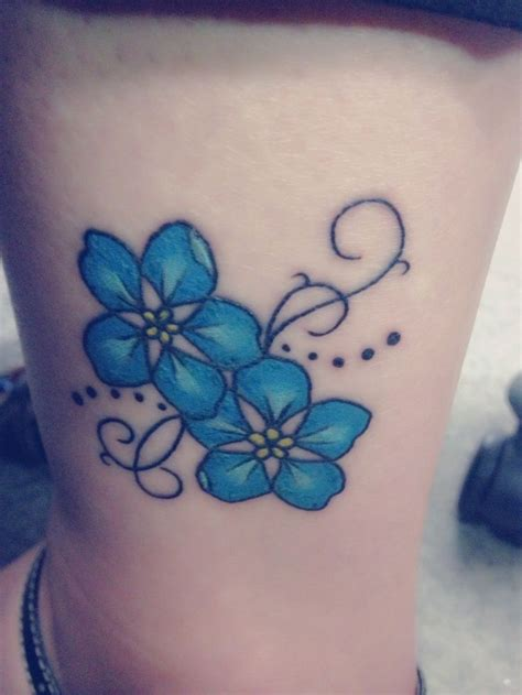 forget me not flower tattoo designs forget me not flower