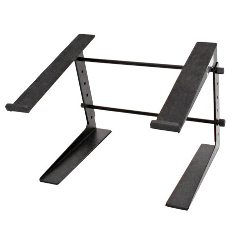 computer keyboard stand for desk seismic audio table top or desk laptop stand steel rack