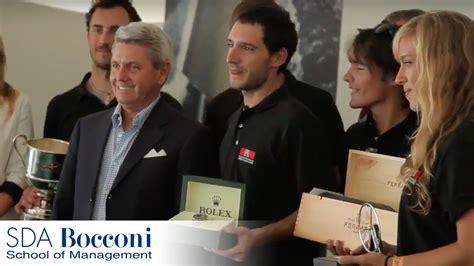 Sda Bocconi And Nyu Mba by The Rolex Mba S Conference And Regatta 2012 Sda Bocconi