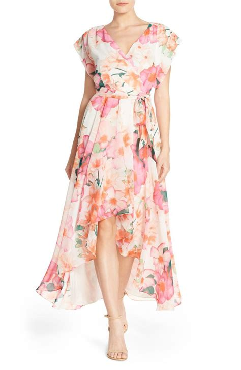 Floral Print Chiffon Dress the best floral print dresses on trend for 2017