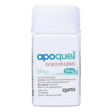 apoquel dosage for dogs apoquel oclacitinib 3 6 mg 20 tabs