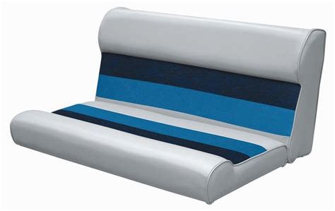 replacement boat cushions wise 37 quot pontoon boat replacement cushion seat for 37