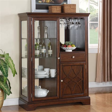 Curio Display Cabinets Dining Room Furniture Standard Furniture Woodmont 2 Door Display Curio Cabinet