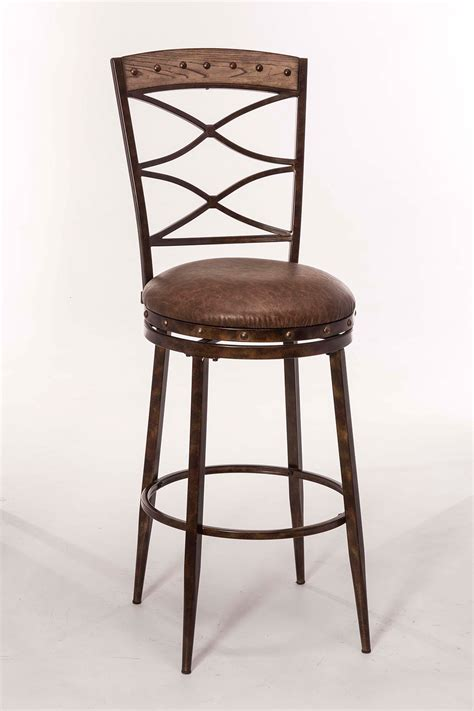 Hillsdale Furniture Reviews hillsdale emmons swivel counter stool washed gray 5984