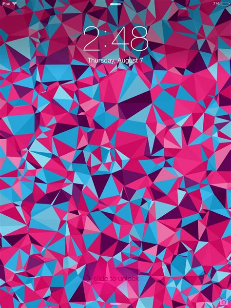 create   abstract polygon shaped wallpapers