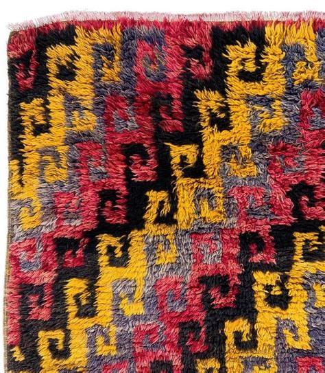rug hooking central dazzling central anatolian quot tulu quot rug for sale at 1stdibs