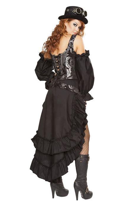 sexy steampunk maiden costume