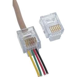 platinum tools ez rj12 11 connector 100 pcs