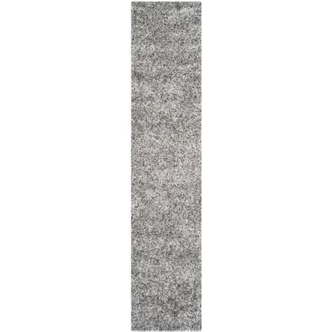 safavieh malibu shag silver 2 ft 3 in x 11 ft rug