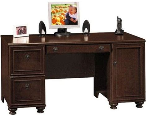 dark wood computer desk solid wood home office desks home office midcentury with