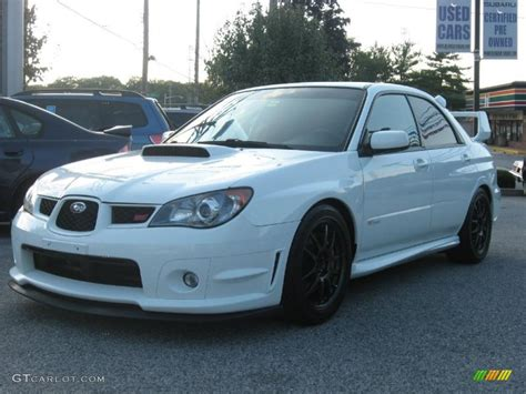 White Subaru by 2006 Aspen White Subaru Impreza Wrx Sti 35353755 Photo 8
