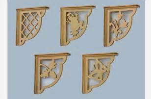 wooden shelf bracket patterns woodworking plans