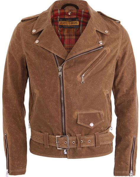 brown motorcycle jacket schott nyc perfecto brown motorcycle jacket upscalehype