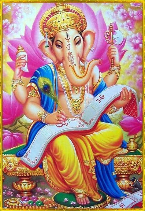 hindu god om om sri ganesh illustration pinterest sri ganesh
