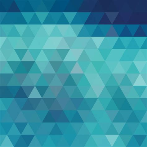 design background shape blue with triangular shapes background design vector