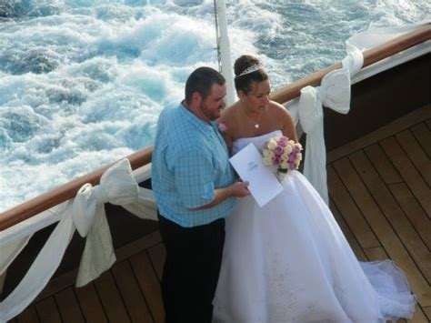 Cruise And Vows by Vow Renewal Ceremony At Sea Cruise Ship Vow Renewal