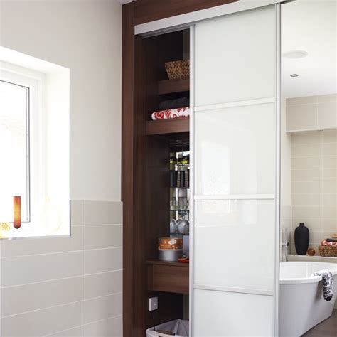 Bathroom Cupboard Storage Bathroom Storage Storage Solutions Bathroom Cabinets Housetohome Co Uk