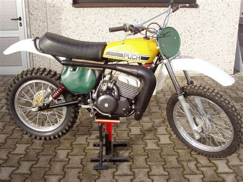motocross push bike puch 250 mc 1975 vintage mx enduro