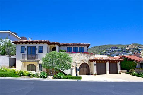 tuscan style view homes for sale in laguna ca