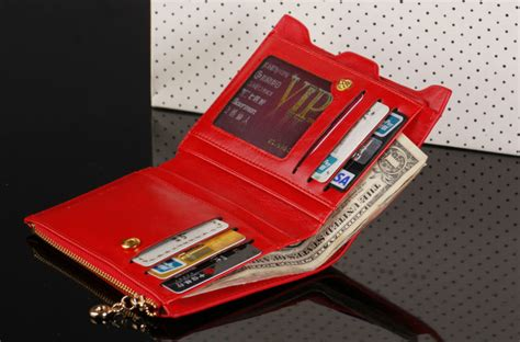 bogesi dompet wanita zipper wallet section