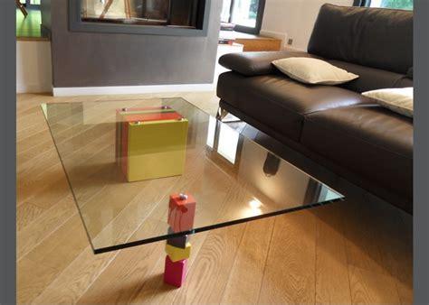 plateau de bureau en verre sur mesure plateau de table en verre sur mesure verre clair trempe