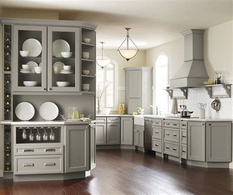 coloured kitchen cabinets homecrest brenner door style on maple with willow finish