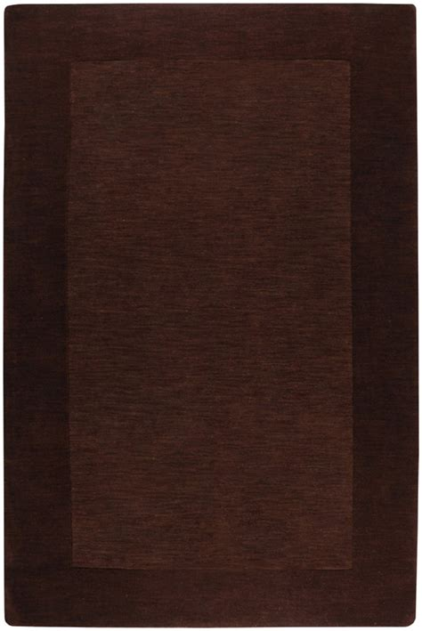 chocolate brown area rug surya area rugs mystique rug m294 chocolate brown contemporary rugs area rugs by style
