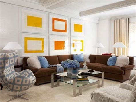 yellow and brown living room blue and brown living room with acrylic coffee table and