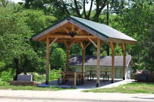 Outdoor Shelter Plans by Diy Picnic Shelter Plans Small Rustic Pavilion Shelter