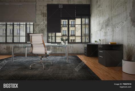 Log Homes Plans by 3d Rendering Stark Modern Office Image Amp Photo Bigstock