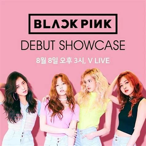 Poster Blackpink 3 Unofficial jennie updates on quot info poster blackpink for debut showcase v app live