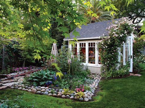favorite backyard sheds sunset magazine