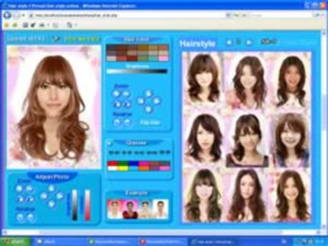 virtual hairstyles design ทรงผมส น แบบผมส น