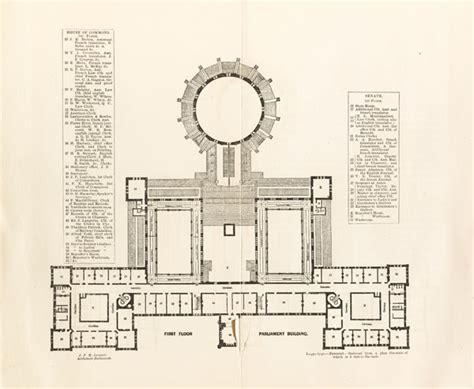 canadian floor plans file plan of the original central parliament building jpg