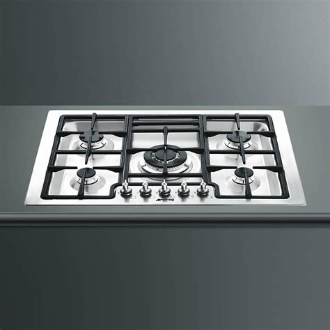 30 Inch Gas Cooktop Smeg Classic 30 Inch Drop In 5 Burner Gas Cooktop