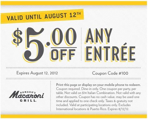 Macaroni Grill Gift Card Promotion - macaroni grill coupon 2017 2018 best cars reviews