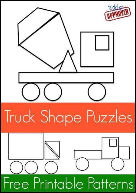 what does shape pattern mean mom project truck shape pattern puzzles shape patterns