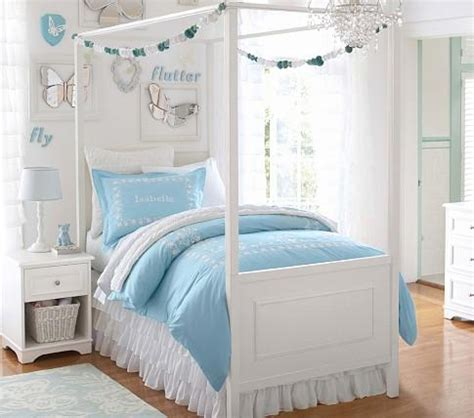 children s canopy bed fillmore bed canopy pottery barn kids