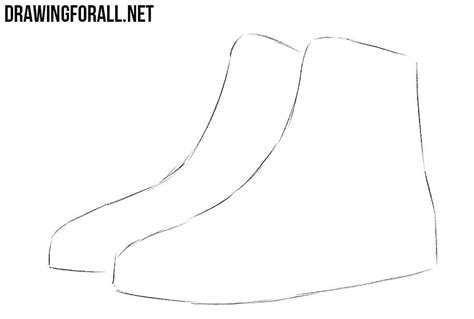how to draw a boat using shapes high heels drawing tutorial how to guidelines just draw it