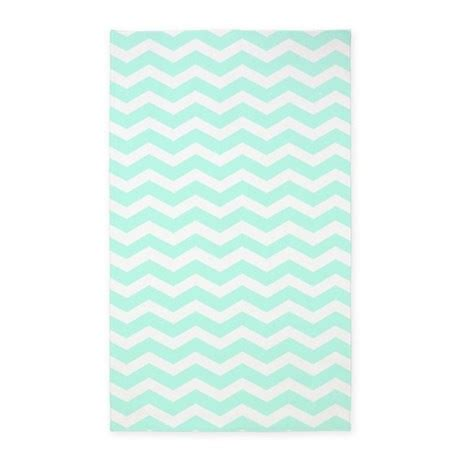 mint colored rug mint and white chevron 3 x5 area rug by inspirationzstore