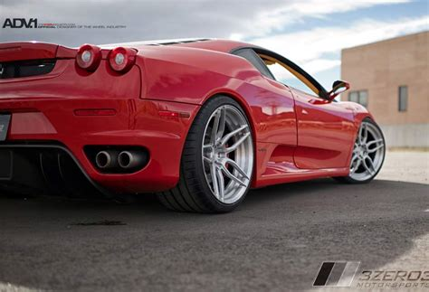 f430 custom f430 custom wheels adv 1 005 mv2 sl 20x9 0 et