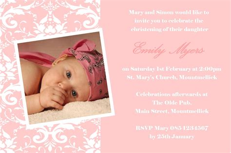 baptism invitation baptism invitations baptism
