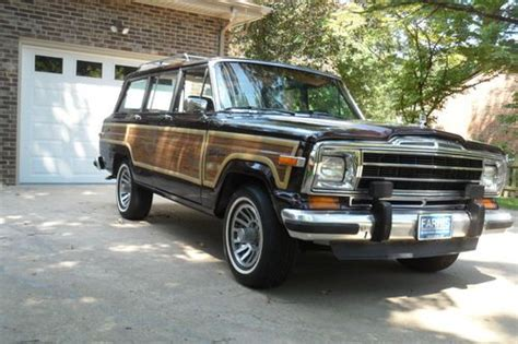 1991 Jeep Grand Find Used 1991 Jeep Grand Wagoneer Edition No