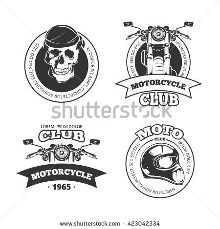 Chopper Logo Stock Images Royalty Free Images Vectors Shutterstock Motorcycle Logo Design Templates