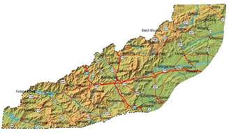 carolina mountain map all about western carolina