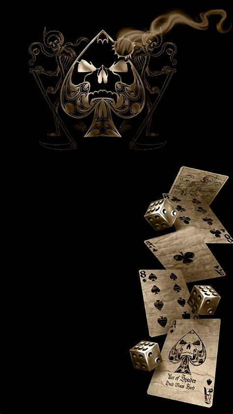 wallpaper iphone 5 poker ace of spades wallpaper hd 60 images