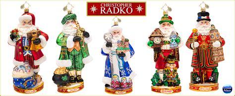 world ornaments christopher radko around the world ornaments